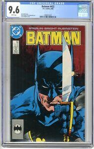 Batman   #422   CGC  9.6  NM+  White pages  8/88  Jim Starlin Story