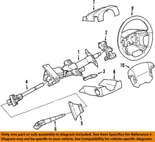 VOLVO OEM 01-06 S60 Steering Column-Lower Shaft 3409939
