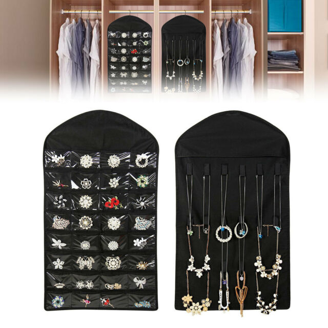 Frequently Bought Together Closet Hanging Jewelry Organizer