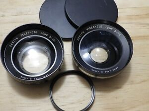 Zenith-Telephoto-and-Wide-Angle-Lens-Accessories-w-55mm-Adapter-Vintage