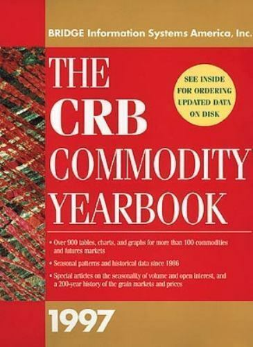 """""""CRB Commodity Yearbook 1997 by Knight-Ridder Financial """""""