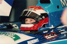 Johnny Herbert Hand Signed Mild Seven Benetton Photo 7x5 1.