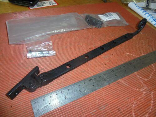 Fer noir 305 mm Curly Tail Fenêtre Séjour