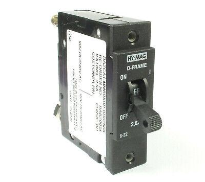 65VAC 60A Airpax Sensata Hydraulic Magnetic Circuit Breaker  80VDC 60A