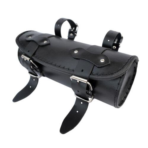 Motorrad Leder Werkzeugrolle Satteltasche Yamaha XV Virago Midnight Star Drag