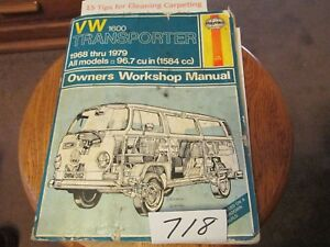 Details about 1968 -1979 VW Transporter 1600 Haynes Repair Service on mercedes sprinter wiring diagram, land rover 90 wiring diagram, vw transporter parts list, mitsubishi l200 wiring diagram, land rover defender wiring diagram, ford motorhome wiring diagram,