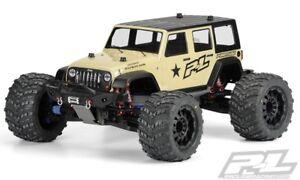 Aimable Proline Jeep Wrangler Unlimited Rubicon Traxxas E-maxx, Revo, Savage - 3405-00-afficher Le Titre D'origine