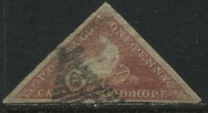 Cape-of-Good-Hope-1857-1d-rose-used-with-nice-margins