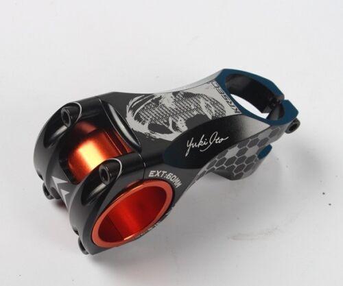 KRSEC Aluminum 17° 31.8//35*60mm MTB XC AM Road Bike handlebar bar Stem Skull