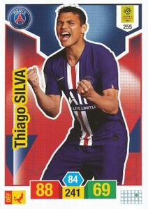 Carte Panini ADRENALYN XL Ligue 1 2019-2020 THIAGO SILVA PSG Paris