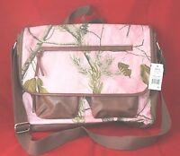 Realtree Camouflage Messenger Shoulder Bag pink New/sealed