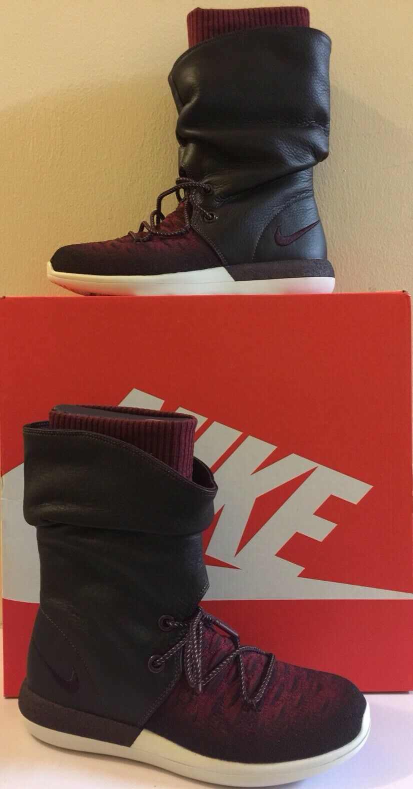 W Roshe Two Hi Flyknit Winter Bottes Bnib