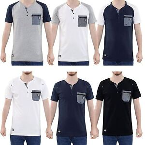 Rawcraft-Mens-T-Shirt-Chest-Pocket-Crew-Neck-Short-Sleeve-Cotton-Shirt-Tee-Top