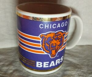 Vintage-Chicago-Bears-Ceramic-Mug-Football-Papel-Freelance-Team-NFL