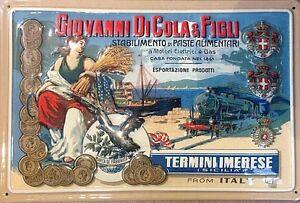 Giovanni-Di-Cola-amp-Figli-embossed-steel-sign-300mm-x-200mm-hi