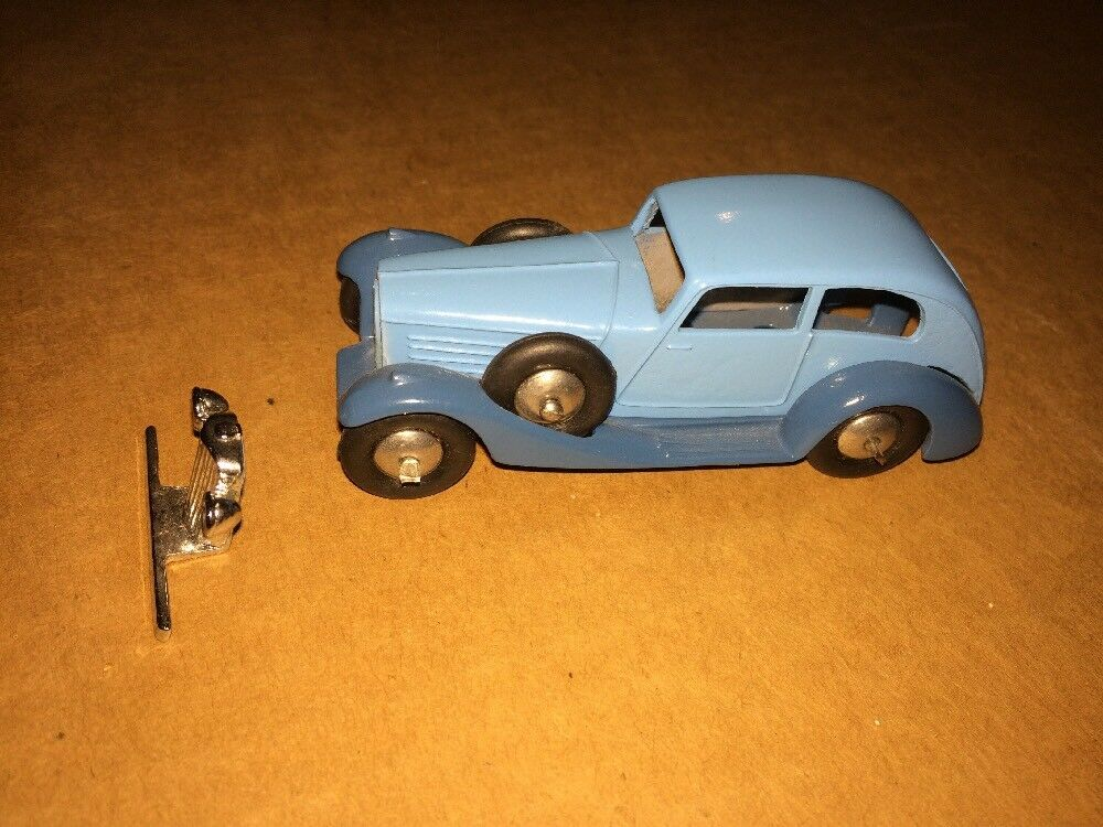 Vintage DCM 1 64 Metal Car Made In England Rare Car Super Hard Find Rubber Tires