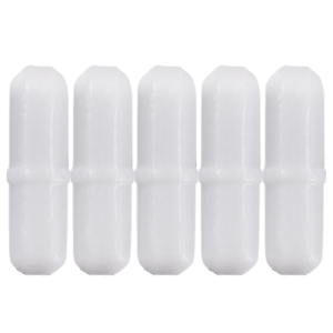 8mm-x-30mm-PTFE-Magnetic-Stirrer-Pill-Bar-Mixer-Stir-Teflon-Cylinder-Pack-5pcs
