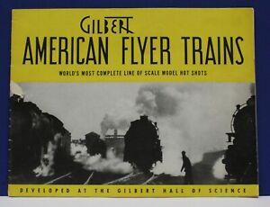 Original-1940-American-Flyer-Train-Catalog-Worlds-Fair-Exc-Cond