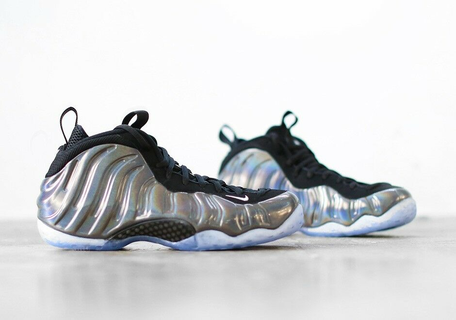 NIKE SIZE AIR FOAMPOSITE ONE HOLOGRAM SIZE NIKE 9.5 Deadstock 314996 900 NIB fa804f