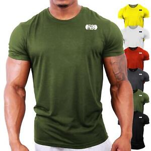 GYMTIER-Gym-T-Shirt-UK-Bodybuilding-Top-Gym-Clothing-Vest-Workout-Training