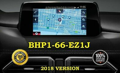 Part# BHP166EZ1D Mazda Navigation Card