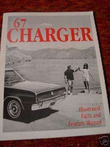 1967 Dodge Charger Fact Feature Manual