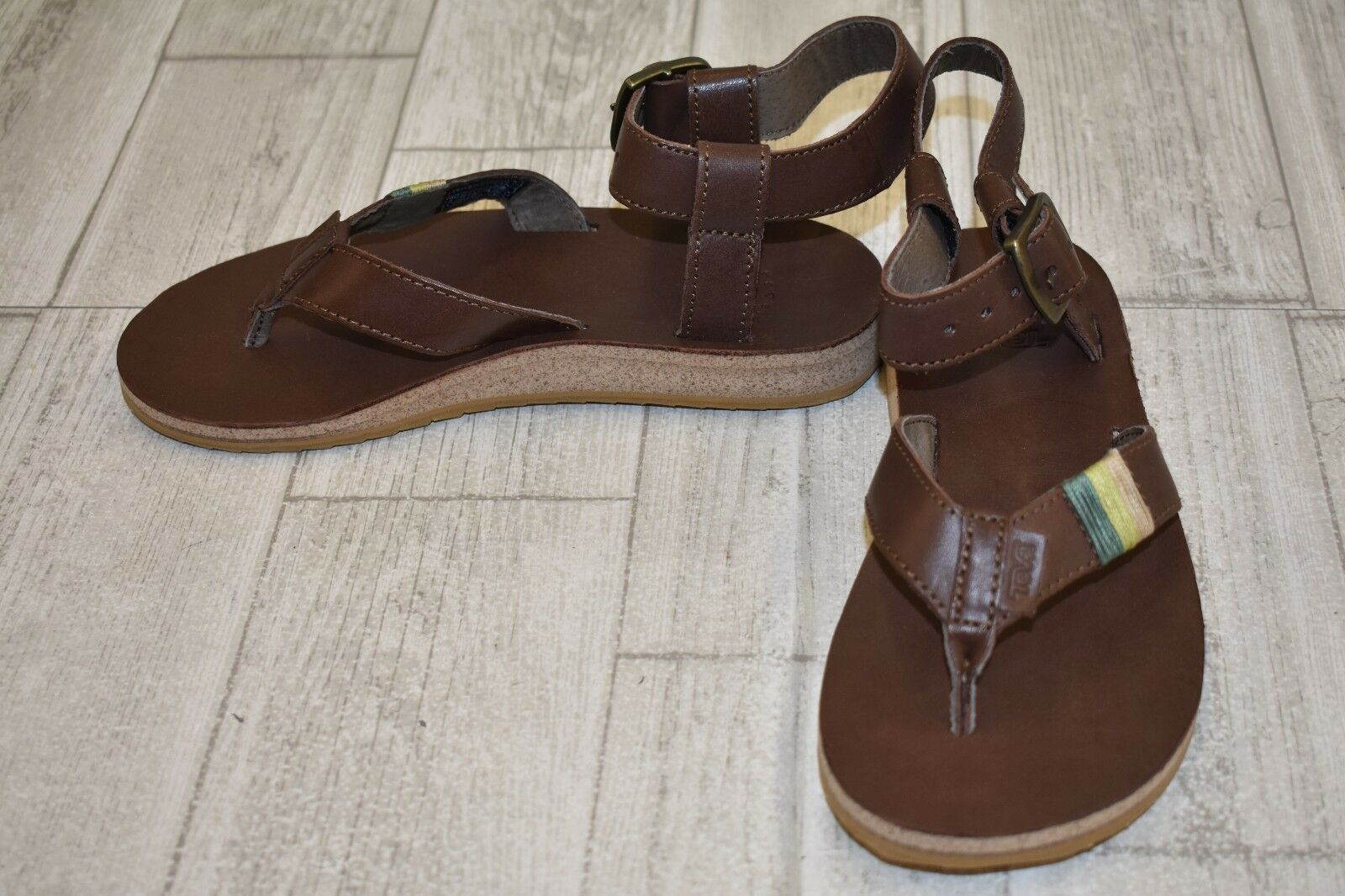 Teva Original Crafted Sandal - Women's Size 6 Brown
