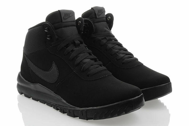 Nike HOODLAND SUEDE Winterschuhe Herren Schuhe Expressversand Schwarz 654888090