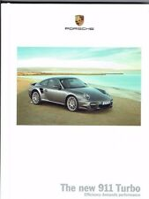 Porsche 911 (997) Turbo 05/2009 Hardback Brochure 111pgs