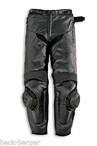 DUCATI-Dainese-SPEED-10-Lederhose-Hose-Leather-Pants-schwarz-NEU