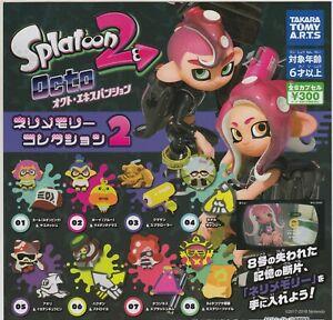 Splatoon 2 Octo Expansion Mem Cake Collection Complete Set (8) Gashapon Bandai