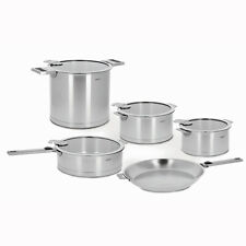 Cristel Strate Removable Handle - 13-Pc Stainless Steel Cookware Set