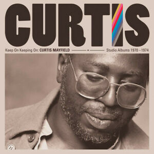 CURTIS-MAYFIELD-Keep-On-Keeping-On-2019-remastered-4xCD-box-set-NEW-SEALED