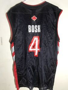 Image is loading Adidas-NBA-Jersey-Toronto-Raptors-Chris-Bosh-Black- 5690ff6ce