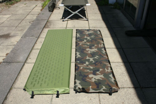 Tapis thermique ISO Tapis slafunterlage Matelas Gonflable 185 x 50 cm Woodland Outdoor