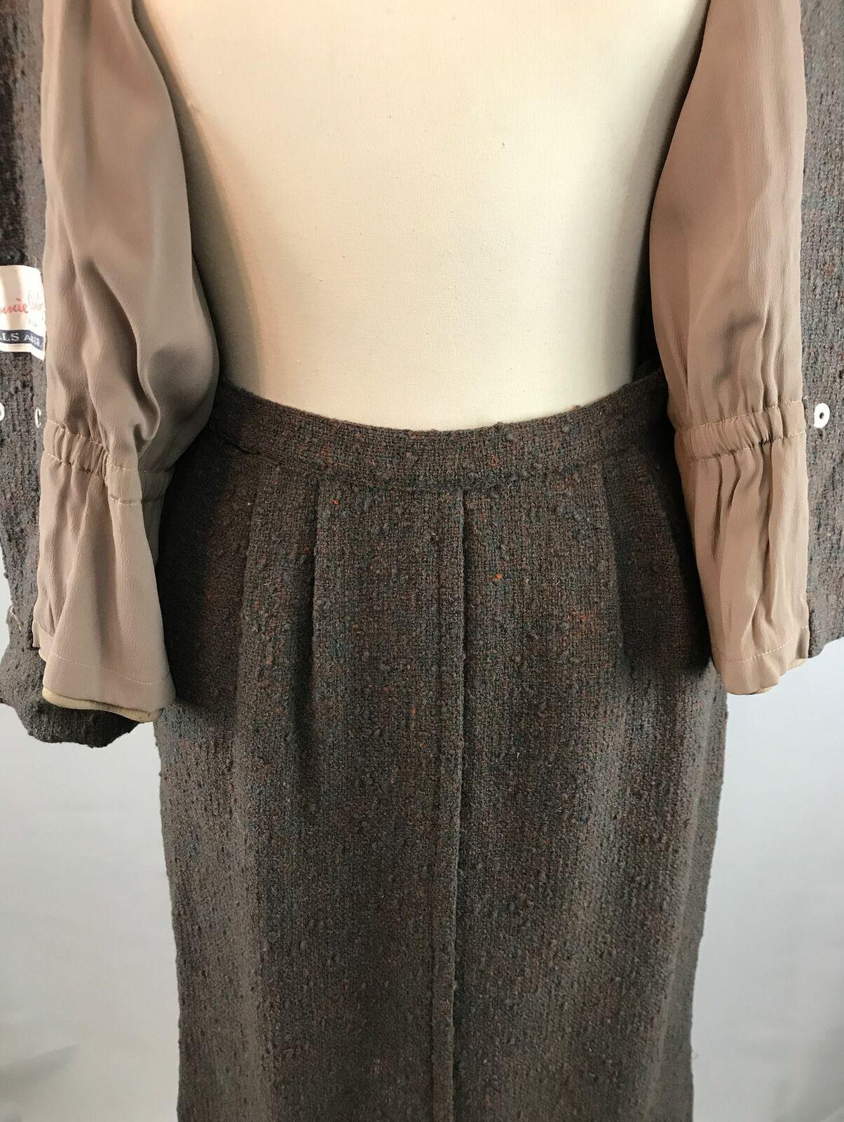 Vintage Bonnie Cashin Leather Jacket and Skirt Se… - image 8