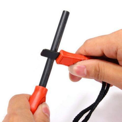 20PCS mini Emergency Flint Fire Starter Rod Lighter Magnesium camping tool kits