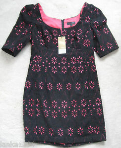 new Shift Tight Petite Black Shor Next 8 Size Lined Lace Tailor Tdress w6R88Fqx4