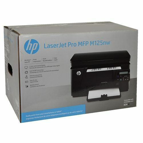 【NEW/&Sealed】HP LaserJet Pro MFP M125nw Multifunction Printer//Copier//Scanner