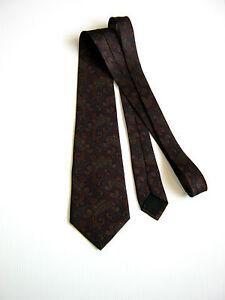 Linea Duebi Roma Vintage Paisley Made Italy Rare Pura Seta Pure Silk