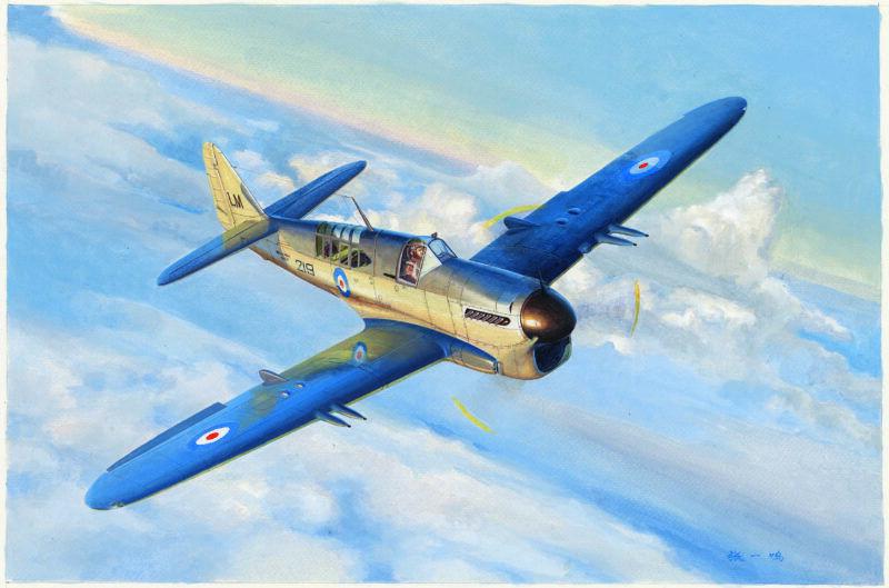 Fairey Firefly Mk 1 Fighter 1 48 48 48 Plastic Model Kit TRUMPETER
