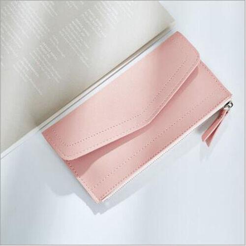 Elegant Women Leather Long Wallet RFID Money Card Holder Clutch Purse Handbag 6A
