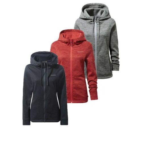 Craghoppers Women's Vector Full Zip Hooded Hoodie Fleece Jacket RRP £55