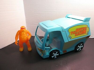 Scooby Doo The Mystery Machine Van W/10,000 Volts Ghost ...