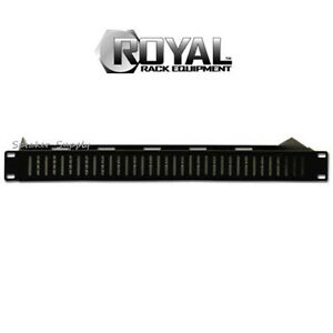 Royal-racks-de-1U-Oculto-Estante-Ventilada-cubierta-Rack-Placa-de-montaje-en-panel-Av-Rack-roy1244