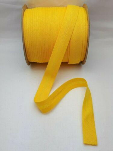 ab 0,85€//M 18mm Schrägband Falzband Einfassband gefalzt Farben 100/% Baumwolle