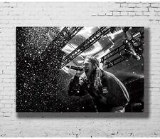 New Post Malone Custom Rap Hip Hop Music Star Singer T-584 Silk Fabric Poster