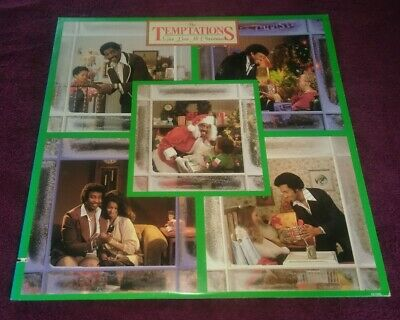 The Temptations Give Love At Christmas LP Motown This Christmas Everyday | eBay
