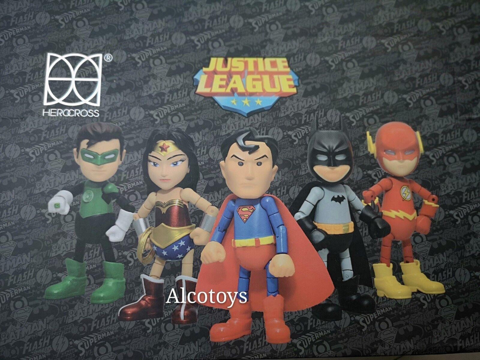 Herocross Justice League Mini HMF Hybrid Metal FIGURATION FULL Set WONDER WOMAN