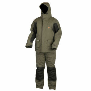 Prologic-HighGrade-Thermo-Suit-Waterproof-Suit-Jacket-Bib-amp-Brace-Fishing-Carp